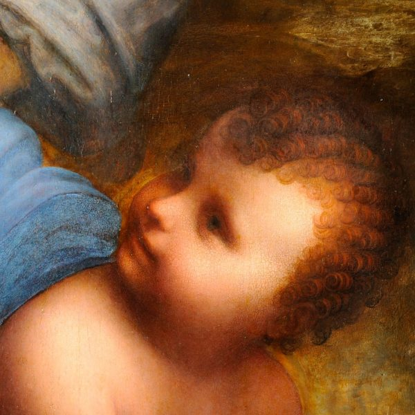 La vierge, l'enfant Jésus et Saint-Anne