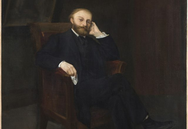 Portrait-edouard-manet-Alphonse-Legros-1