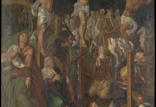 Retable-de-la-Crucifixion-Maerten-van-Heemskerck -1