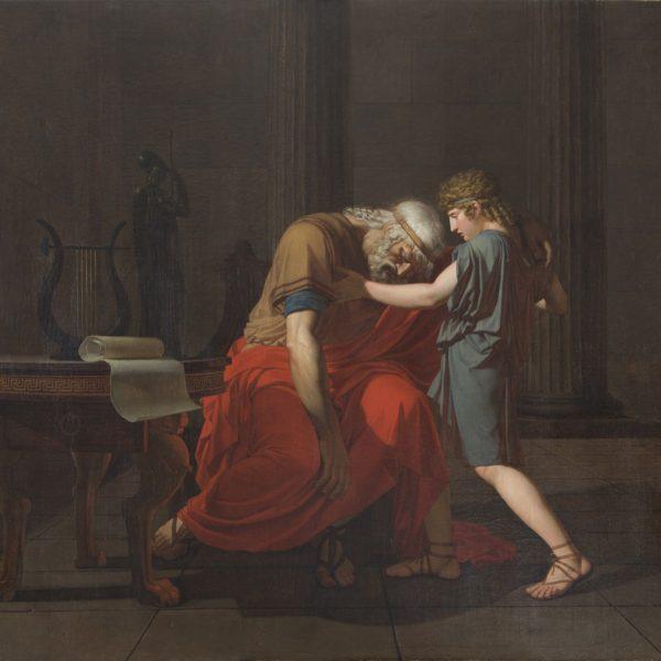 La mort d'Anacréon