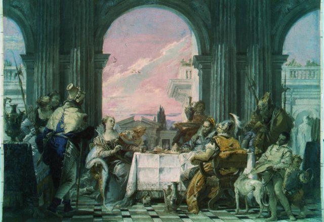 Etude - Tiepolo le banquet - 3- irfc