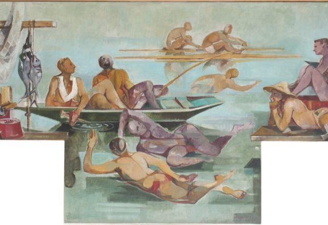 Salles du refectoire du lycee Gustave Monod - 1- ENGHIEN TAB 1 APRES 02
