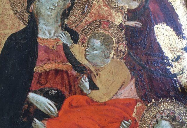 Vierge a l-enfant avec deux anges - Starnina-1