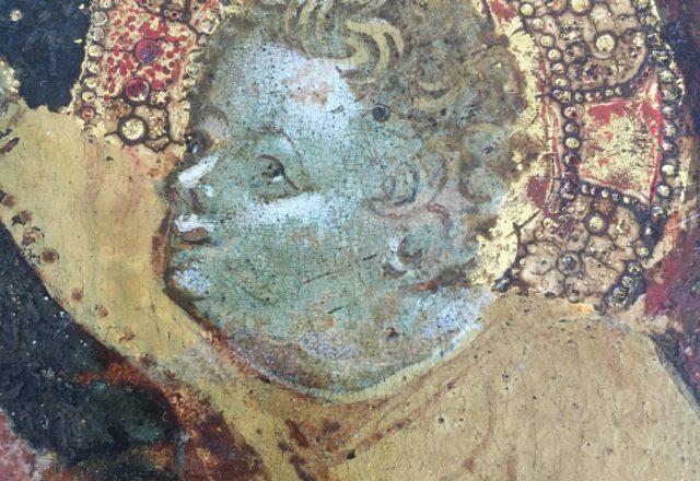 Vierge a l-enfant avec deux anges - Starnina-4