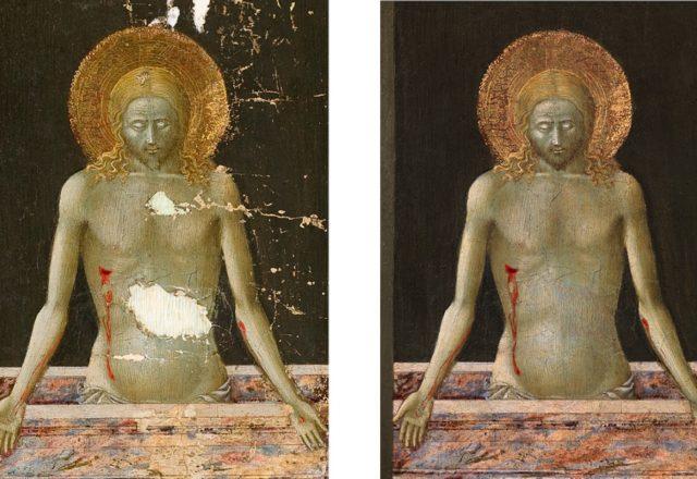 Avant et après restauration / © Arcanes