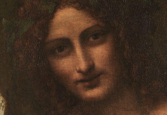 Saint Jean-Baptiste en Bacchus-détail