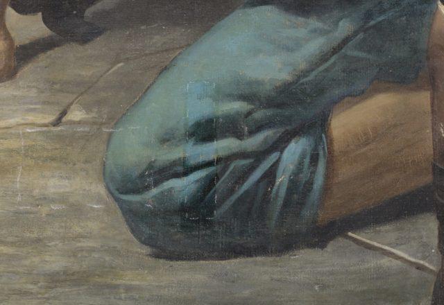 P.LEHOUX- Saint Laurent, martyr