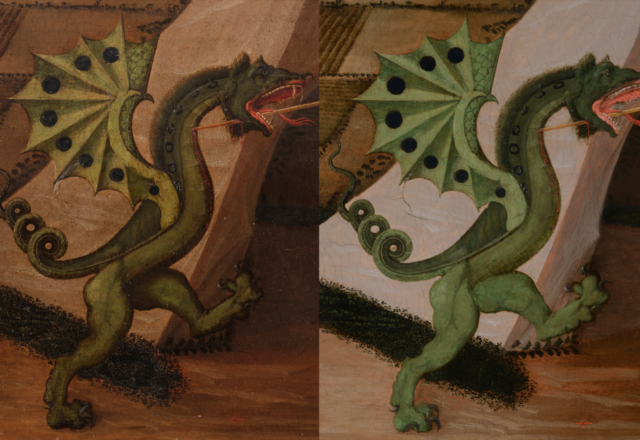 P.UCCELLO-Saint Georges et le dragon
