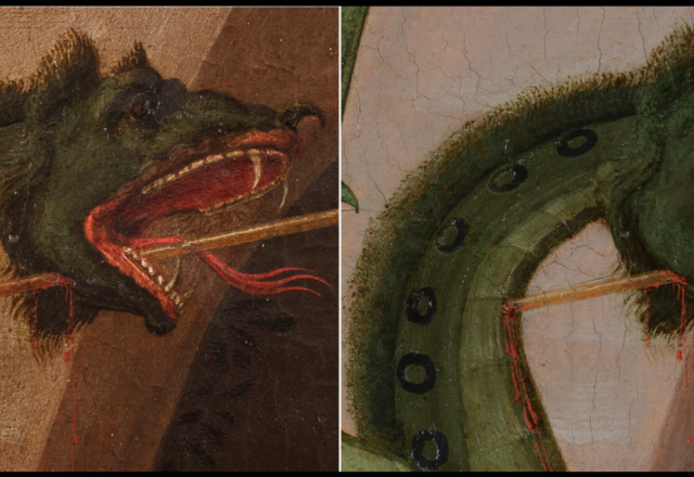 P.UCCELLO-Saint Georges et le dragon-2