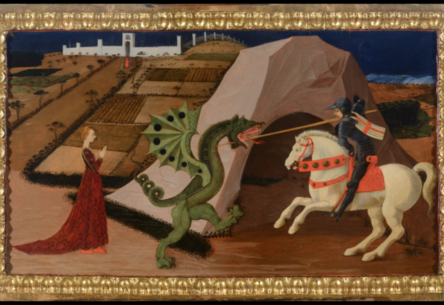 P.UCCELLO-Saint Georges et le dragon-3