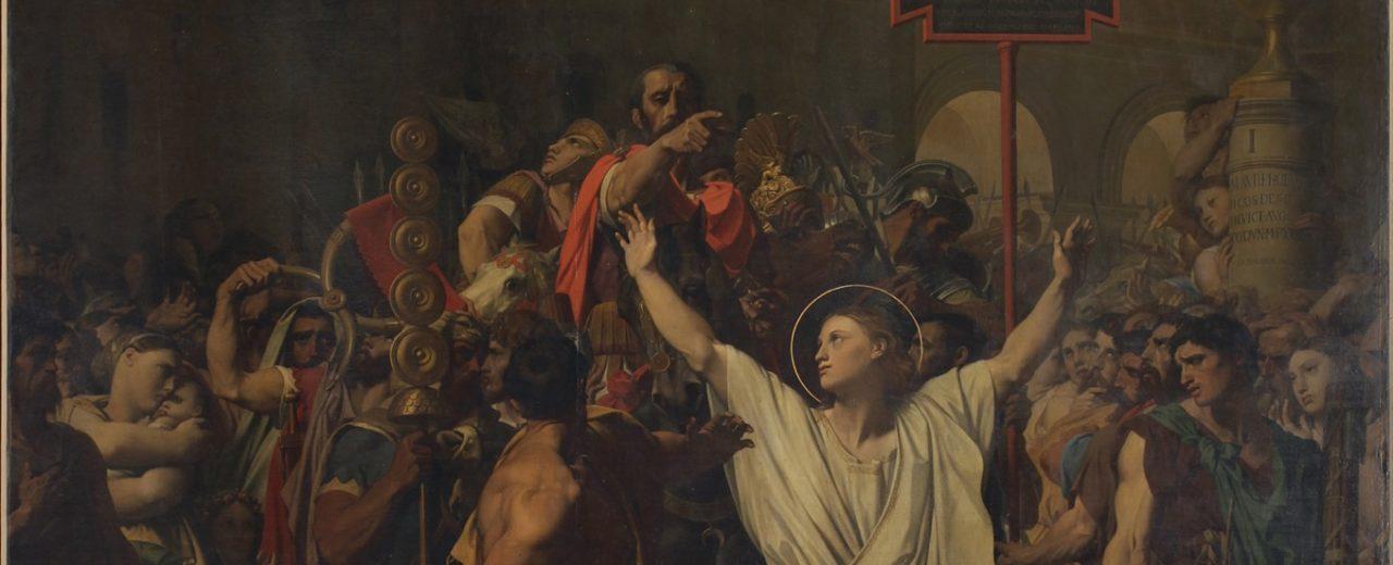 Le martyre de saint Symphorien