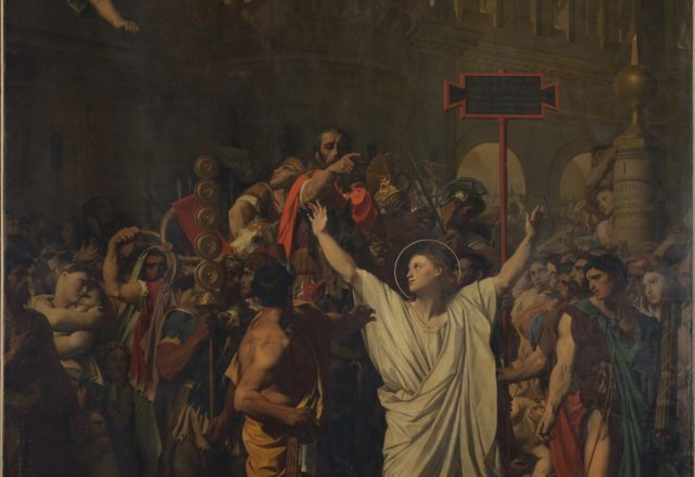 Ingres - Martyr de St Symphorien-1