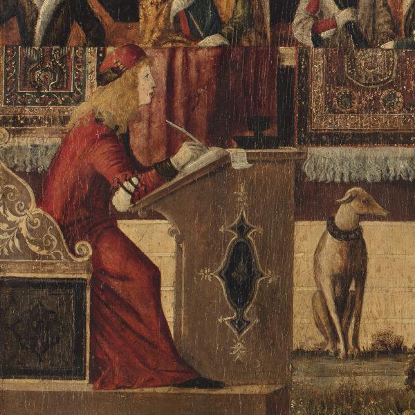 L'Ambassade qu'Hippolyte, la Reine des amazone envoie à Thésée, Roi d'Athènes