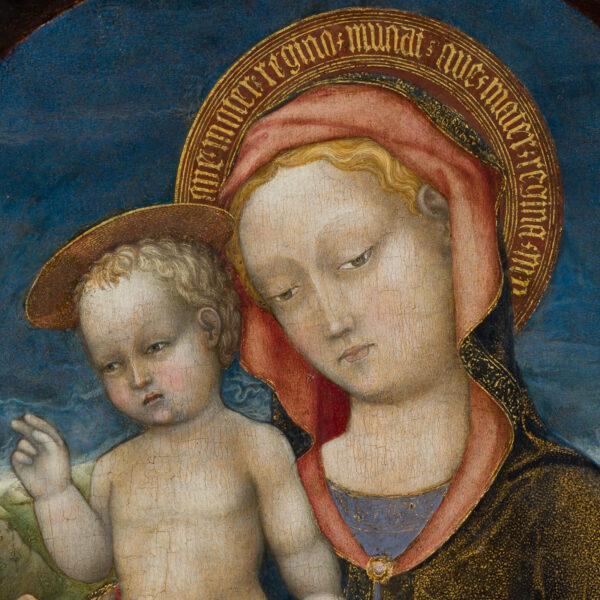 La Vierge d'Humilité adorée par un prince de la Maison d'Este